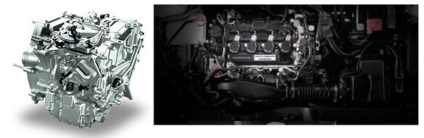 ระบบเกียร์อัตโนมัติแบบ CVT และ เครื่องยนต์ 1.5 ลิตร VTEC TURBO