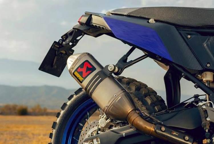 การออกแบบภายนอกของ Yamaha Tenere 700