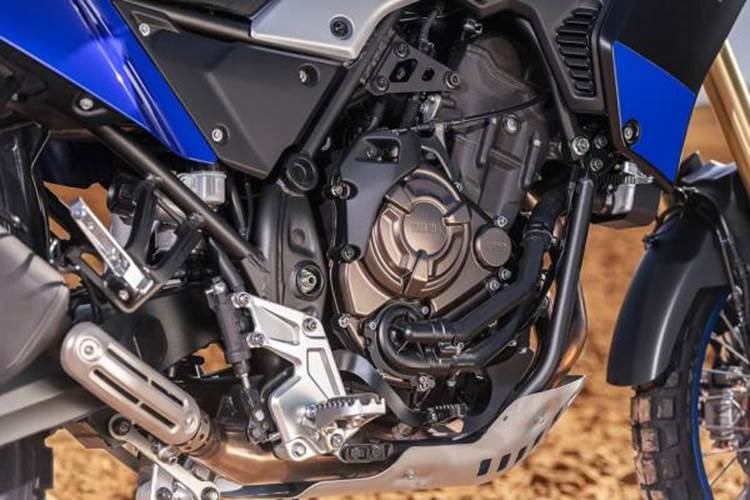 เครื่องยนต์ของ Yamaha Tennere 700