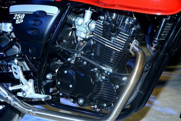 เครื่องยนต์ของ New Makina 250 SP