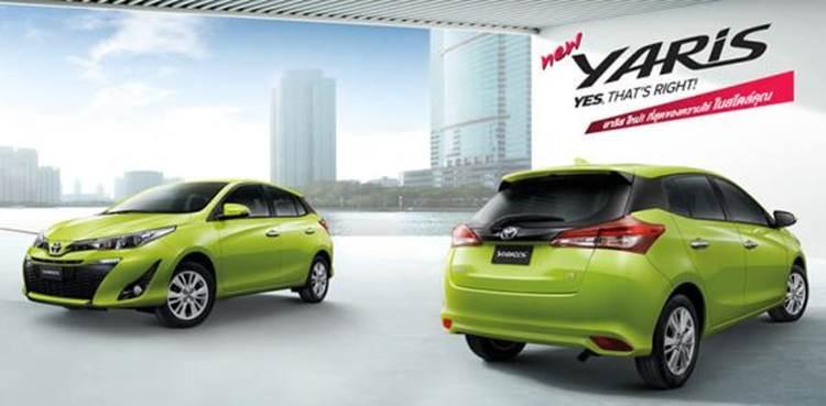 Toyota Yaris รถยนต์อีโคคาร์ ตอบโจทย์ชีวิตคนในเมืองได้เป็นอย่างดี