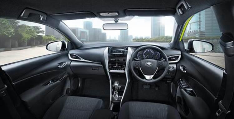 ภายในของ Toyota Yaris 2019