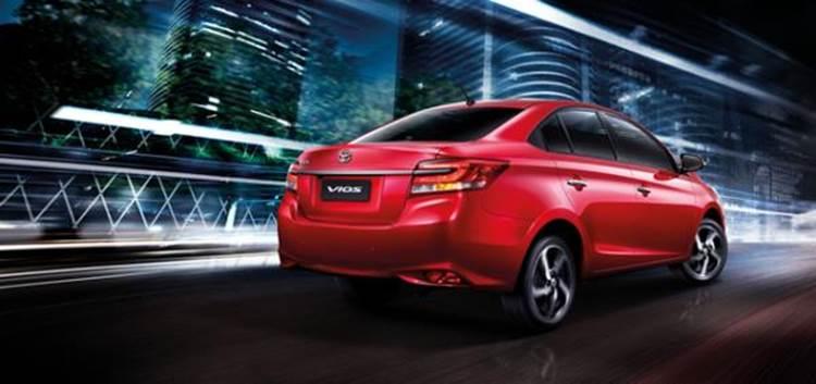 ภายนอกของ Toyota Vios 2019