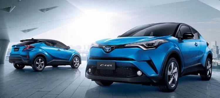 Toyota CH-R 2019 รถสปอร์ตคูเป้ยกสูง จากค่ายยอดนิยม Toyota
