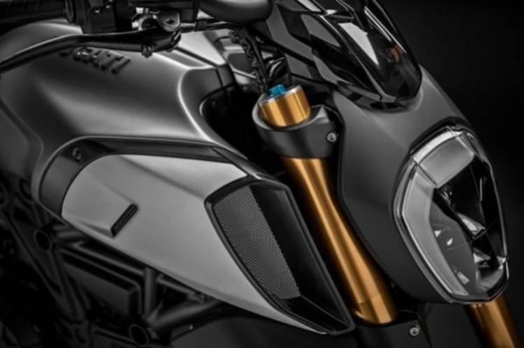 การออกแบบภายนอกของ Ducati Diavel 1260