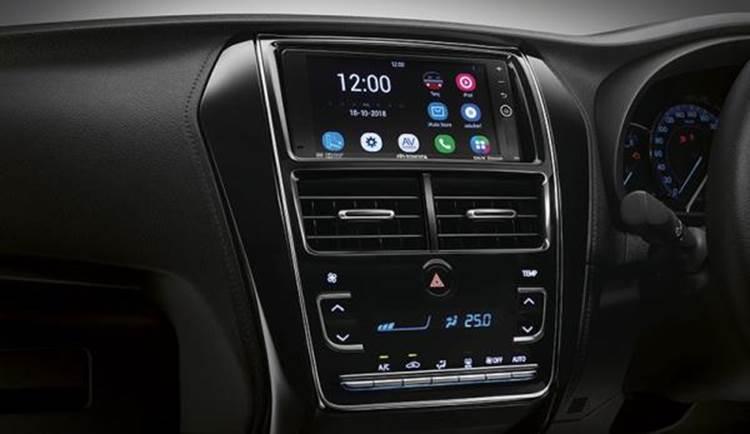 ภายในด้านหน้าคนขับ ของ Toyota Yaris 2019