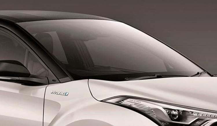 ภายนอกของ Toyota CH-R 2019