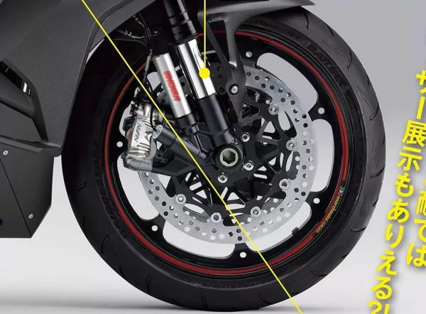 การออกแบบล้อหน้าและล้อหลังของ New CBR1000RR