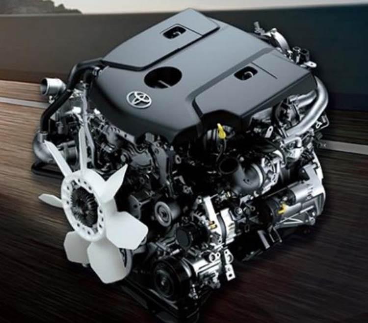 เครื่องยนต์ของ Toyota Fortuner TRD Sportivo 2019