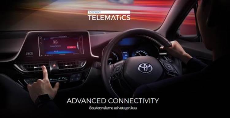 ภายใน Toyota CH- R 2019