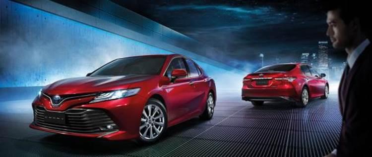 Toyota Camry 2019 ราคาเริ่มต้นอยู่ที่ 1,455,000 บาท