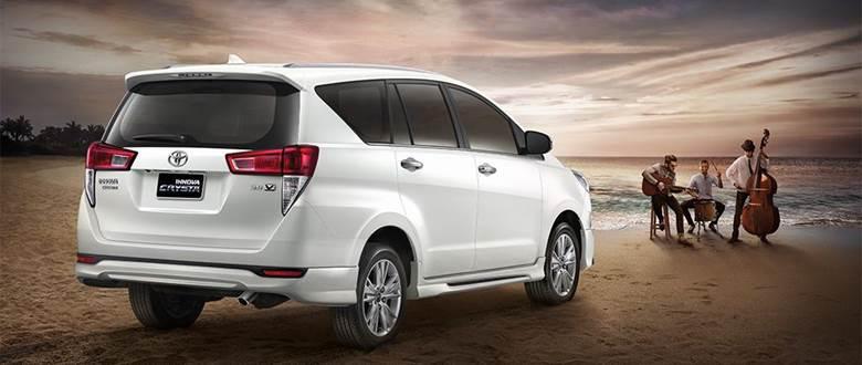 Toyota Innova Crysta 2019 ราคาเริ่มต้นอยู่ที่ 1,413,000 บาท