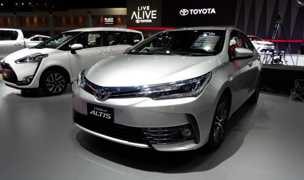 Toyota Corolla Altis ราคาเริ่มต้นอยู่ที่ 799,000 บาท