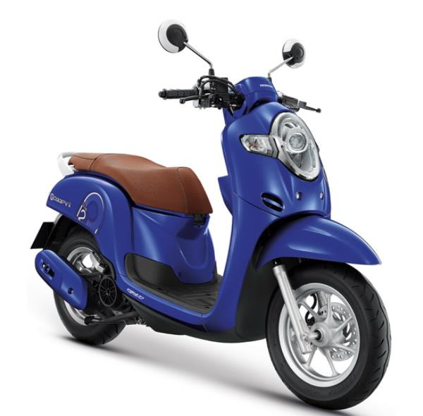การออกแบบภายนอกของ Honda Scoopy i 2019