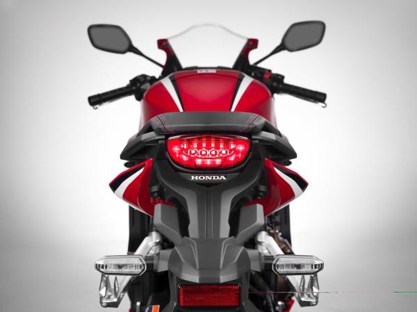 การออกแบบภายนอกของ Honda CBR650R