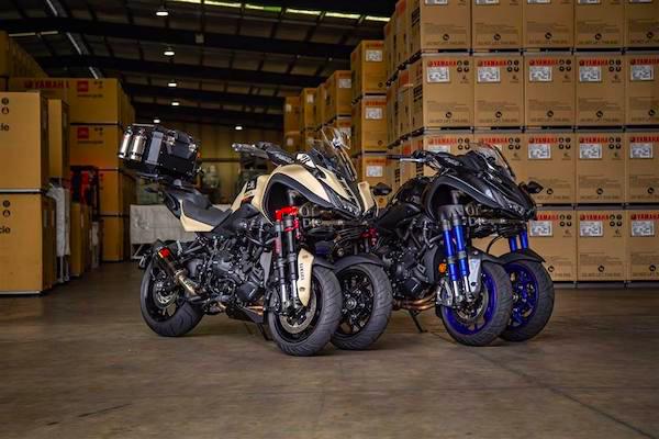 มอเตอร์ไซค์ 3 ล้อ Yamaha Niken