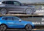 เปรียบเทียบ SUV ระดับพรีเมี่ยม 2018 Volvo XC60 vs 2018 BMW X3