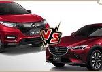 เปรียบเทียบ Honda HR-V 2018 กับ Mazda CX-3 2018 ซื้อคันไหนดีกว่ากัน ?