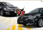 เปรียบเทียบ Nissan Teana 2018 กับ Toyota Camry 2018 หรูสุดใช่ที่สุดต้องคันไหน ?
