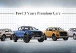 Ford 5 Years Premium Care มอบความคุ้มครองเพิ่มให้คุณมั่นใจตลอดการเดินทาง