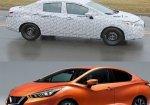 เผยภาพ SPY SHOT All-new Nissan Almera 2020 .ในการวิ่งทดสอบครั้งแรก