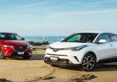 จับกระแสความร้อนแรงของรถราคาหลักล้าน  Toyota C-HR 2018 ปะทะ  Mazda CX-3