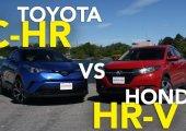 เปรียบเทียบระหว่าง Toyota C-HR กับ Honda HR-V เราควรซื้อคันไหนดี ?