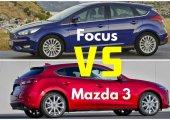 เปรียบเทียบข้อดีและข้อเสียระหว่าง Mazda 3 Skyactiv 2018 กับ Ford Focus 2018