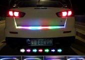 ไฟเบรกท้ายรถกระพริบเปลี่ยนสี ไฟเลี้ยวสีฟ้า ถึงจะสวย แต่ผิดกฎหมาย ถูกปรับ 1,000 บาท