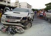 รถใหญ่ชนรถเล็ก ใครผิดกันแน่ ?!
