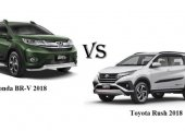 เปรียบเทียบ Toyota Rush 2018 vs. New Honda BR-V 2018 แบบจุดต่อจุด