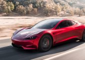 Tesla เผยภาพ Roadster รุ่นถัดไป ดีไซน์ใหม่ที่ไม่มีกระจกข้าง !!!