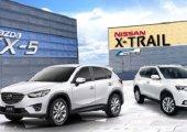 ความลงตัวในการขับขี่ของคุณไฟท์กันระหว่าง Nissan X-trail 2018 กับ Mazda CX-5 2018
