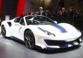 Ferrari 488 Pista Spider มาพร้อมเทคโนโลยีใหม่ที่ช่วยให้ปราดเปรียวขึ้นถึง 20 เปอร์เซ็นต์