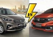 เปรียบเทียบ mini MPV Suzuki Ertiga 2018 VS Honda Mobilio 2018 รุ่นไหนที่ใช่ที่สุด
