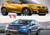 เทียบกันตาต่อตา ฟันต่อฟัน ใครจะแน่ระหว่าง Nissan Juke 2018-2019 กับ Ford EcoSport 2018-2019