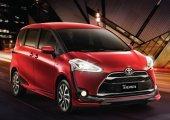 รีวิวความคิดเห็นเกี่ยวกับรถยนต์ Toyota Sienta
