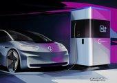 โฟล์คเปิดตัวสถานีเติมพลังงานไฟฟ้าเคลื่อนที่เปรียบเพาเวอร์แบงค์ขนาดยักษ์สำหรับรถ EV ของค่าย
