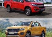 มวยถูกคู่ ! จับ 2 กระบะแกร่งค่ายดังแดนมะกั มาเปรียบเทียบ ระหว่าง Chevrolet Corolado 2019 กับ Ford Ranger 2019