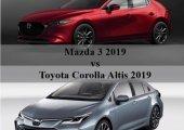 เปรียบเทียบ Mazda3 2019 กับ Toyota Corolla Altis 2019 ดวลหมัดต่อหมัด ใครจะเจ๋งกว่า