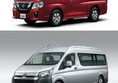 เปรียบเทียบรถตู้ Toyota Hiace 2019 กับคู่แข่ง Nissan NV350 Caravan 2019