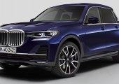 BMW X7 Pick-up Concept ต้นแบบรถกระบะคันจริง จากค่ายเยอรมัน