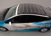 Toyota ร่วมมือกับ NEDO และ Sharp ติดตั้ง high-efficiency solar cells บนรถพลังงานไฟฟ้า เพิ่มระยะทางได้อีก 56 กม.
