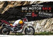 MOTO GUZZI ขยายเวลาโปรโมชั่นสุดพิเศษ จากงาน BIG MOTOR SALE 2019 จนถึงวันที่ 30 กันยายน 2562