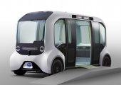 Toyota ส่งยานยนต์ไฟฟ้าไร้คนขับสุดล้ำ 'e-Palette' รองรับนักกีฬาโตเกียวโอลิมปิก 2020