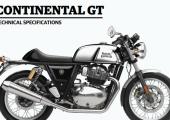 ราคาและตารางผ่อน ดาวน์ Royal Enfield Continental GT 650