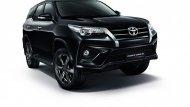 Toyota Fortuner รถยนต์อเนกประสงค์ PPV โฉมใหม่ 2018 ได้เพิ่มฟีเจอร์มาตรฐานแบบใหม่หลากหลายฟังก์ชั่นเพิ่มทางเลือกรุ่นย่อยทั้งในแบบรุ่นธรรมดา และ Black Top พร้อมระบบขับเคลื่อน 2WD และ 4WD  - 3