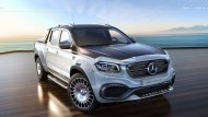 หรูซ้ำหรูซ้อนไปใหญ่โต จาก Nissan Navara ยังกลายเป็น Mercedes-Benz X-Class ได้ แล้วจะไปยากอะไรหาก Mercedes-Benz X-Class จะอยากเป็น Mercedes-Maybach - 4