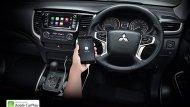 ให้ความพิเศษด้วยระบบ Apple Carplay เชื่อมต่อกับ Iphone ง่ายเพียงปลายนิ้วสัมผัสเฉพาะในรุ่น Double Cab Plus และ Mega Cab Plus ขับเคลื่อน 2 ล้อ    - 11