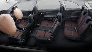 ถุงลมคู่หน้า Dual SRS ช่วยปกป้องและลดการบาดเจ็บของผู้ขับขี่รวมถึงผู้โดยสารด้านหน้า เมื่อเกิดการชนจากด้านหน้า - 28
